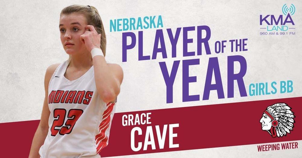 Grace Cave KMA player of the year