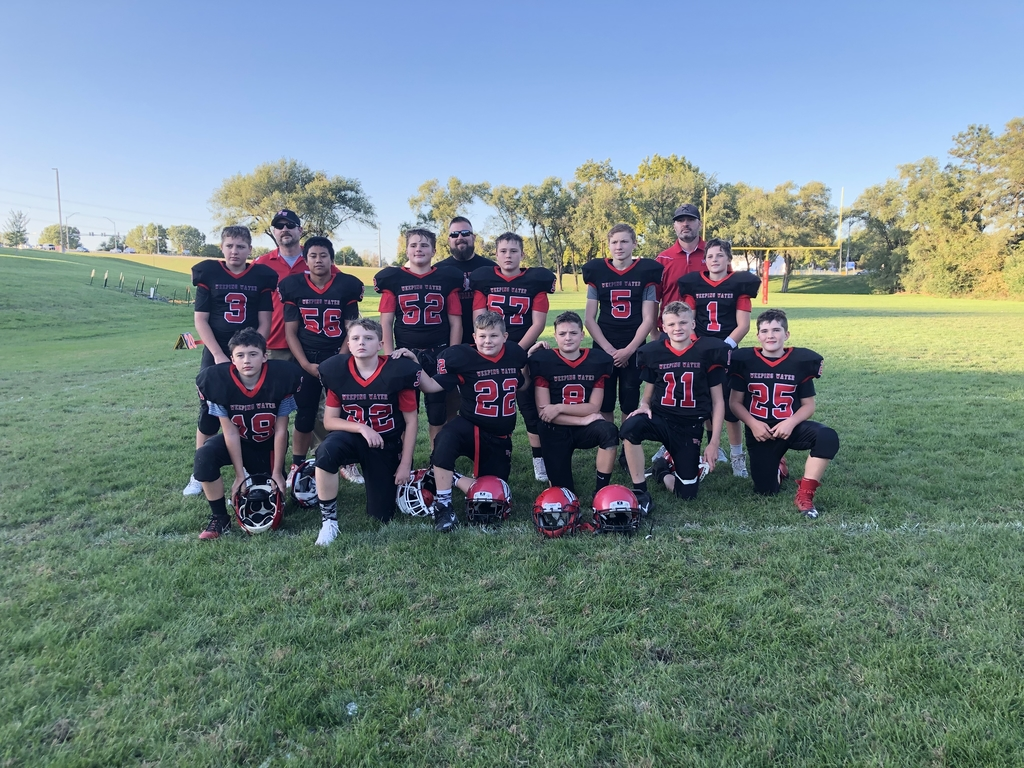 Jr High Football Team 2019