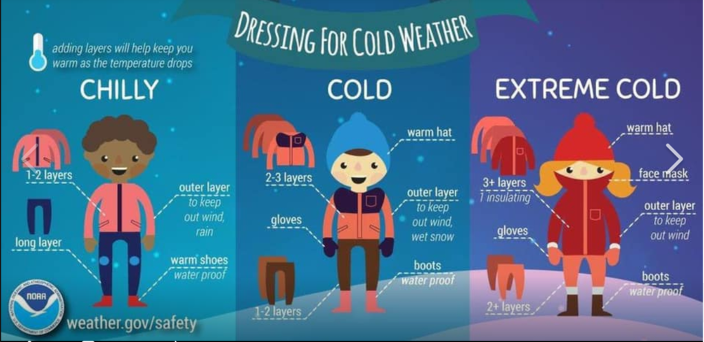 Cold Weather Advice