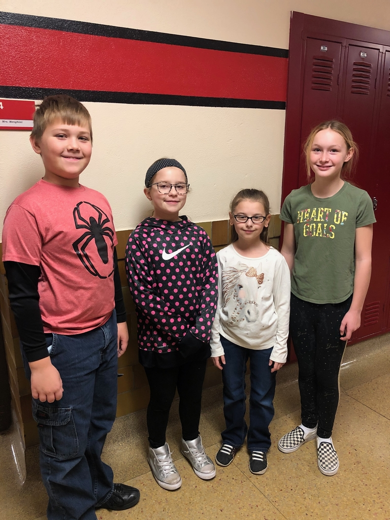 Four of WWPS best singers sang in the children's all-state  choir at the Lied Center.