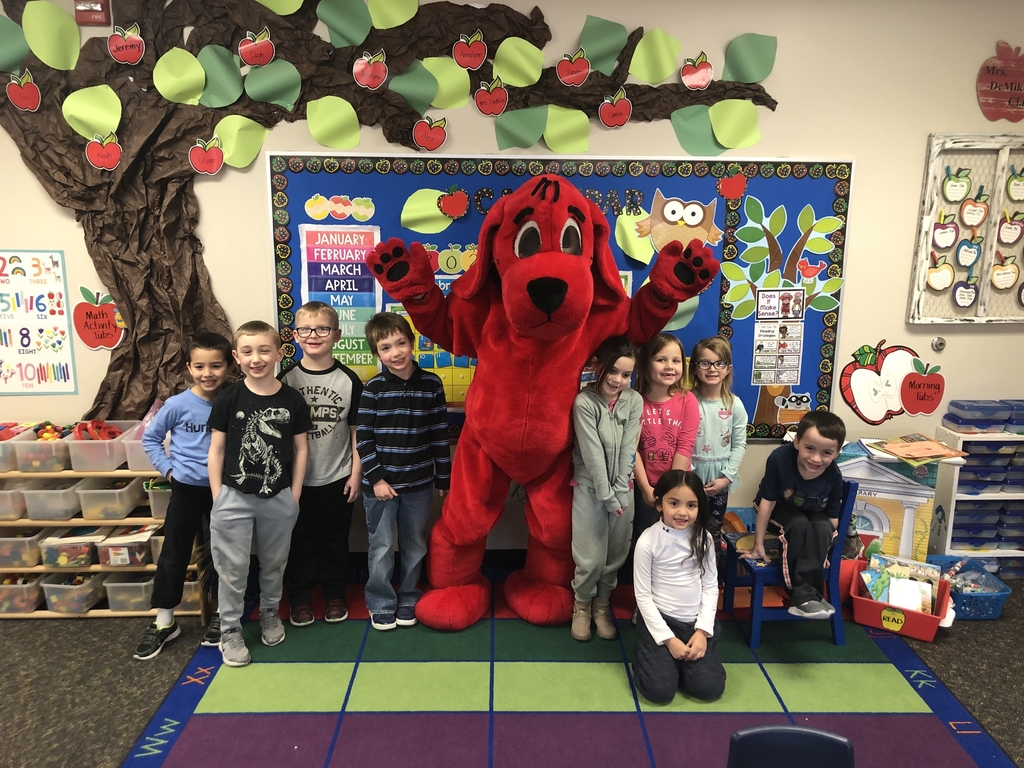 Mrs. DeMike's kindergarten with Clifford